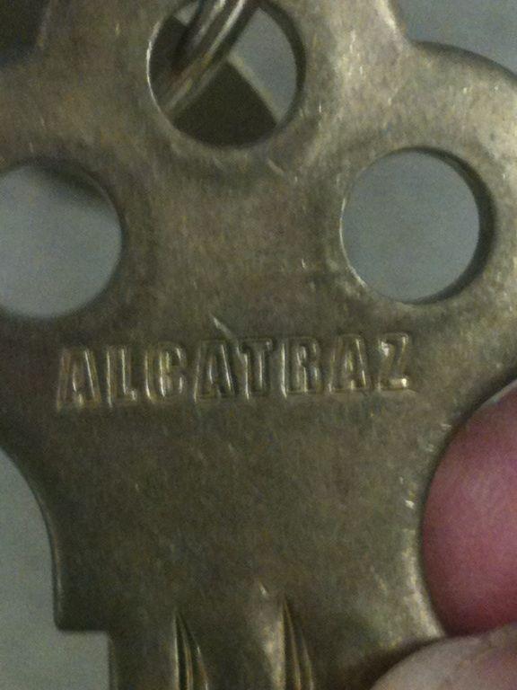 An Actual Key From Alcatraz Alcatraz Island Alcatraz Abandoned