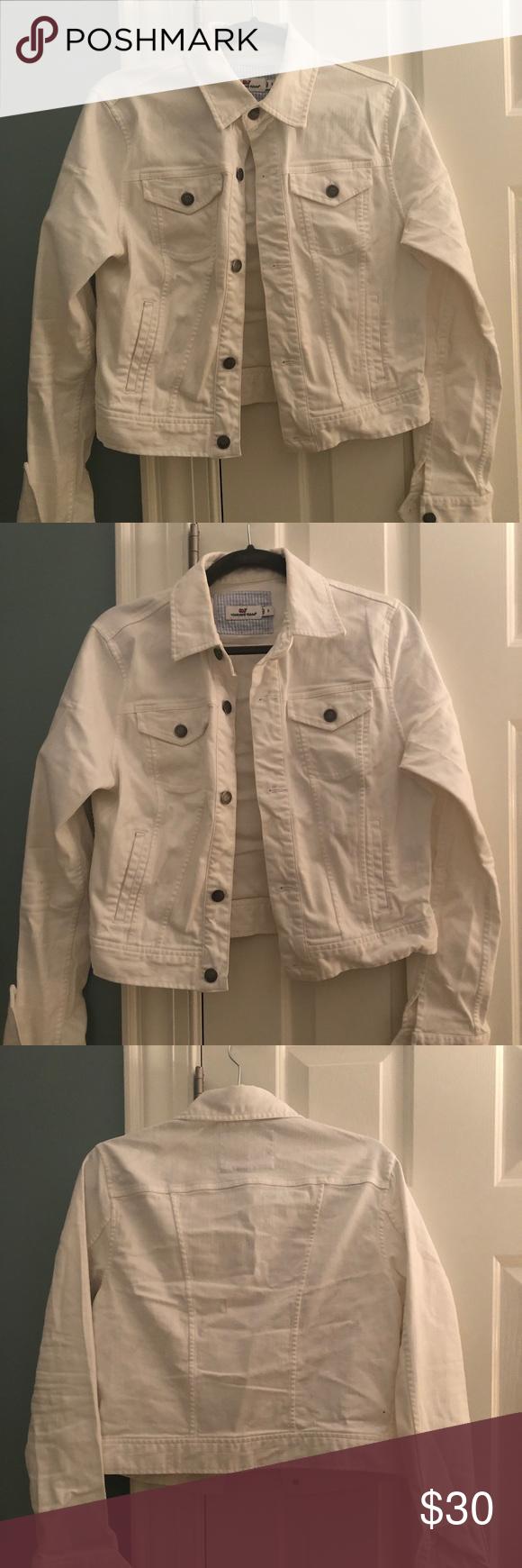Vineyard Vines White Denim Jacket Stretch White Denim Jacket White Denim Denim Jacket [ 1740 x 580 Pixel ]