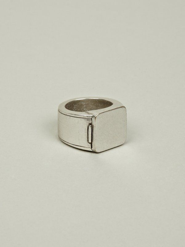 Cool hidden compartment ring for men a man 39 s man for Cool hidden compartments