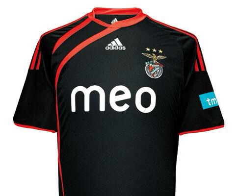 size 40 dec5a 5b29d 2009-2010 SL Benfica Away Kit | Beautiful Football Shirts ...