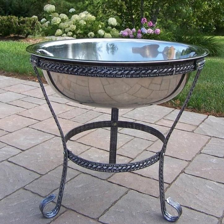 Amazing Oakland Living Stainless Steel Ice Bucket W/ Stand : Ultimate Patio
