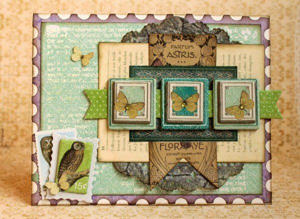 Card: Magical card *Bo Bunny*