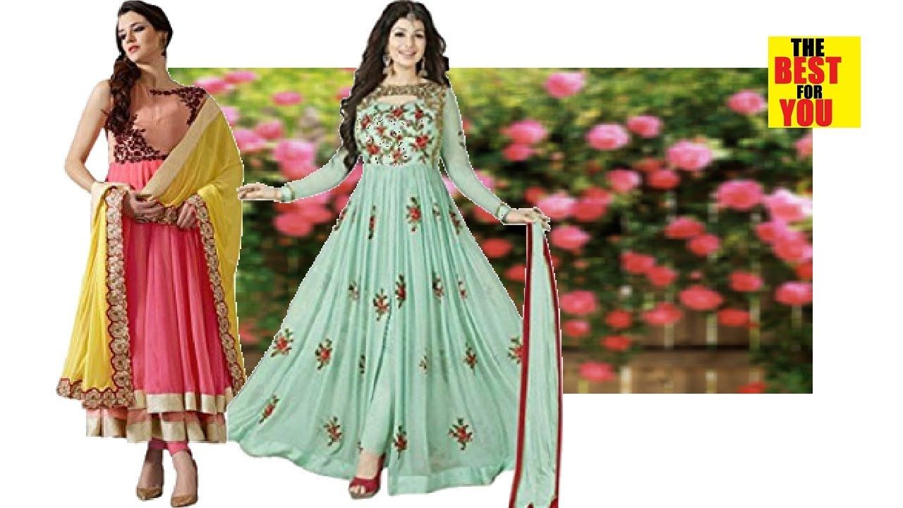 d77174ee99 TOP 10 Anarkali Salwar Kameez indian and pakistani dresses 2018 in amazon shopping  online