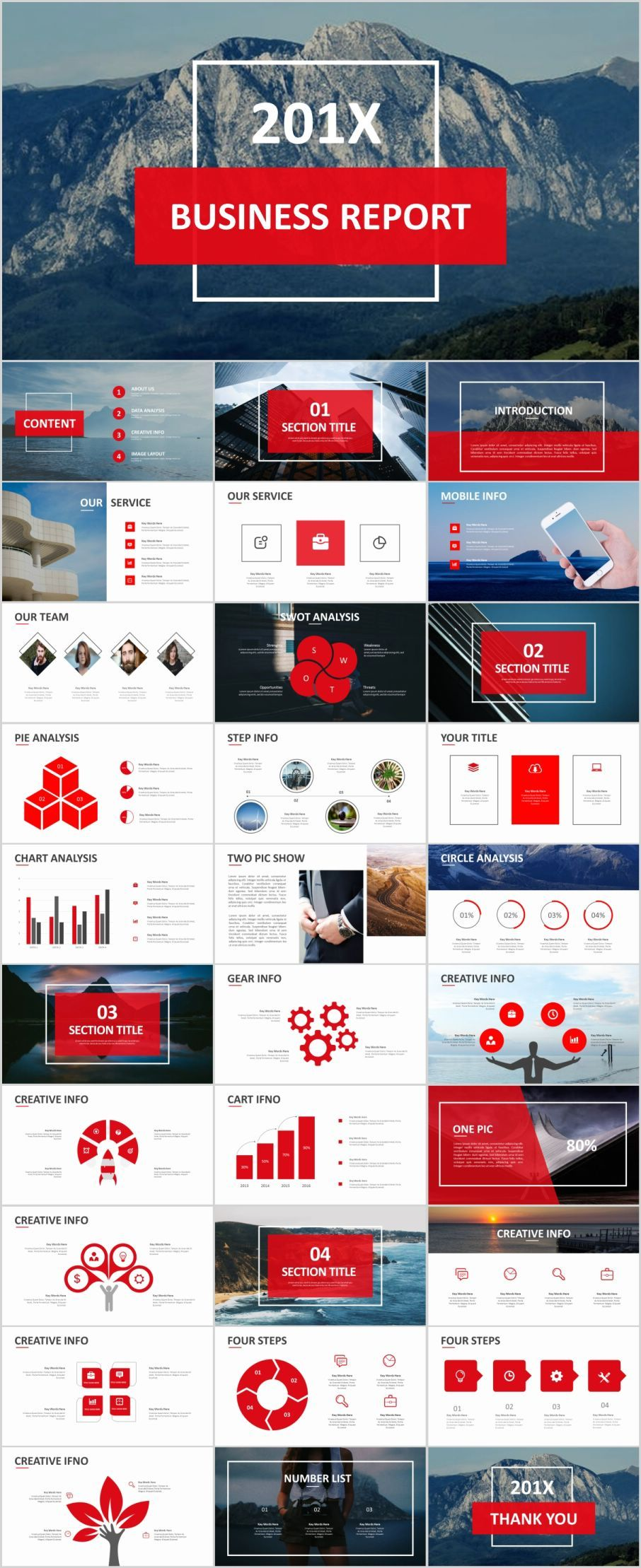 31 Best red Business Design PowerPoint templatesThe highest quality PowerPoint Templates and Keynote Templates download