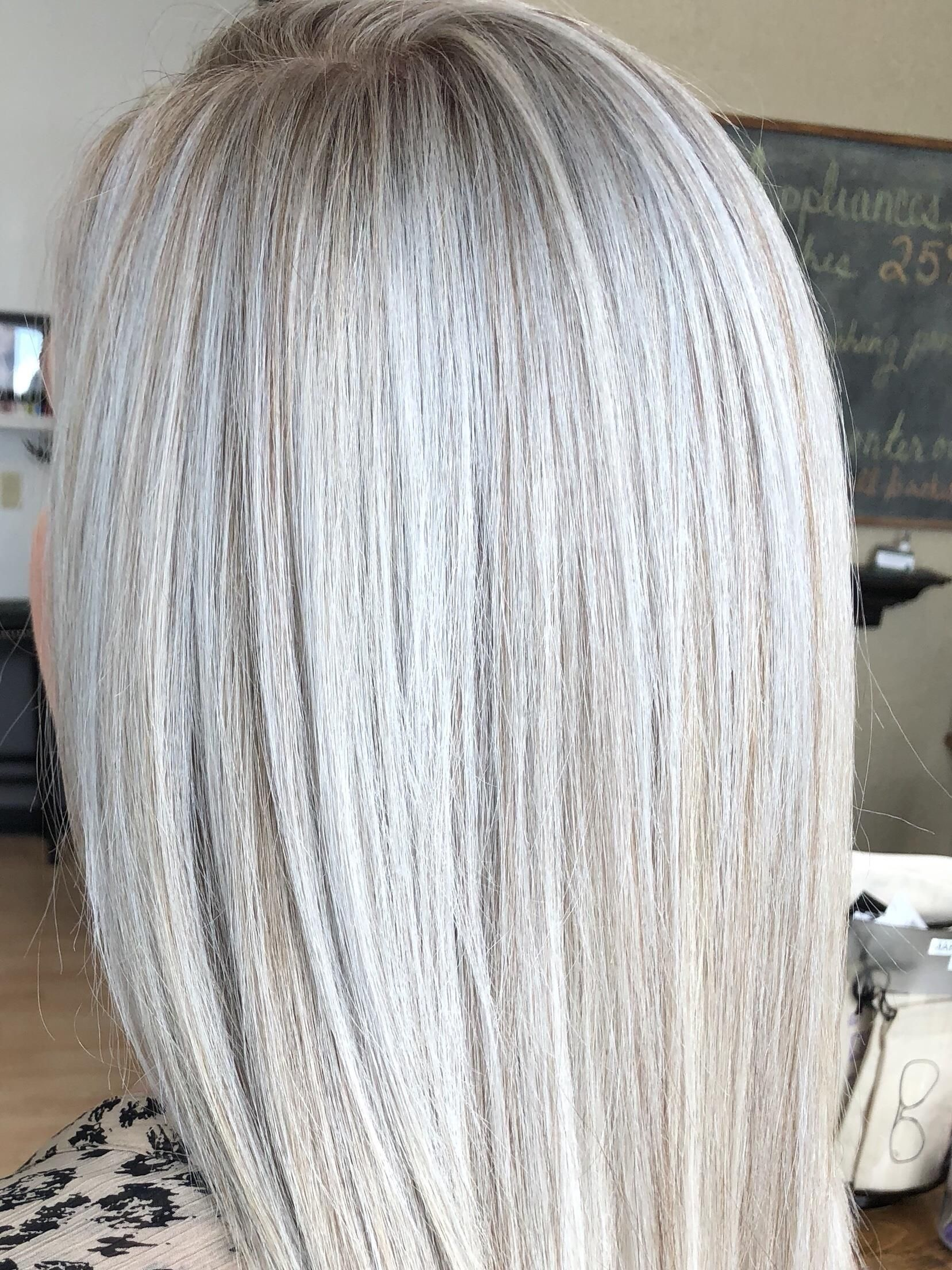 Toner 25 Icy Toner Add On Hair Toner Silver Hair Grey