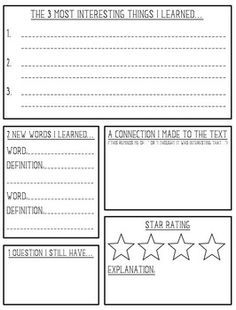 first grade non fiction book reports - Google Search | First Grade ...
