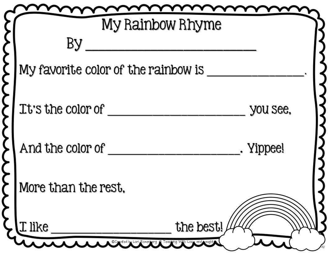 Sharing Some Activities Teaching Rainbow Writing