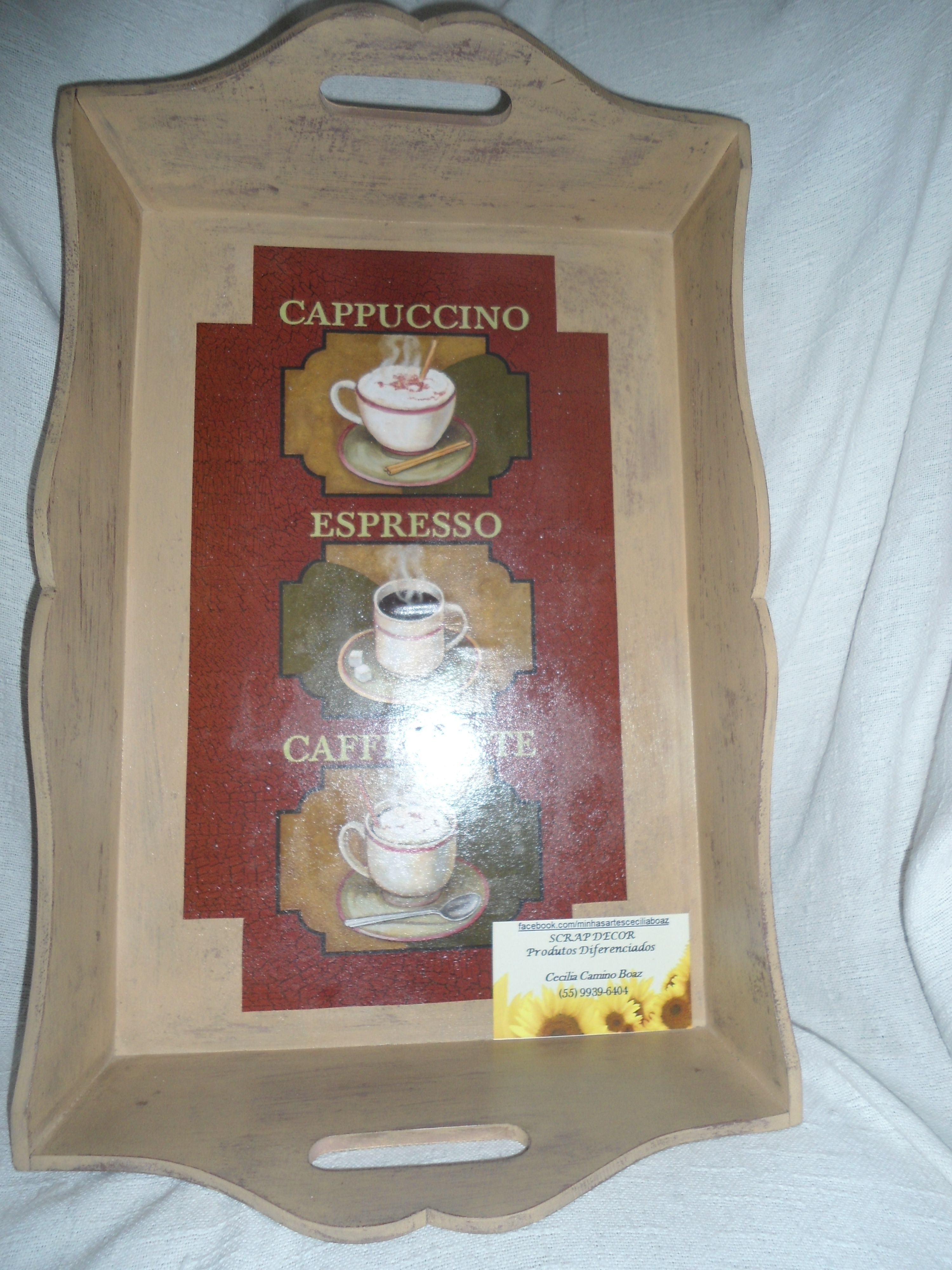 "Bandeja ""Café""!"