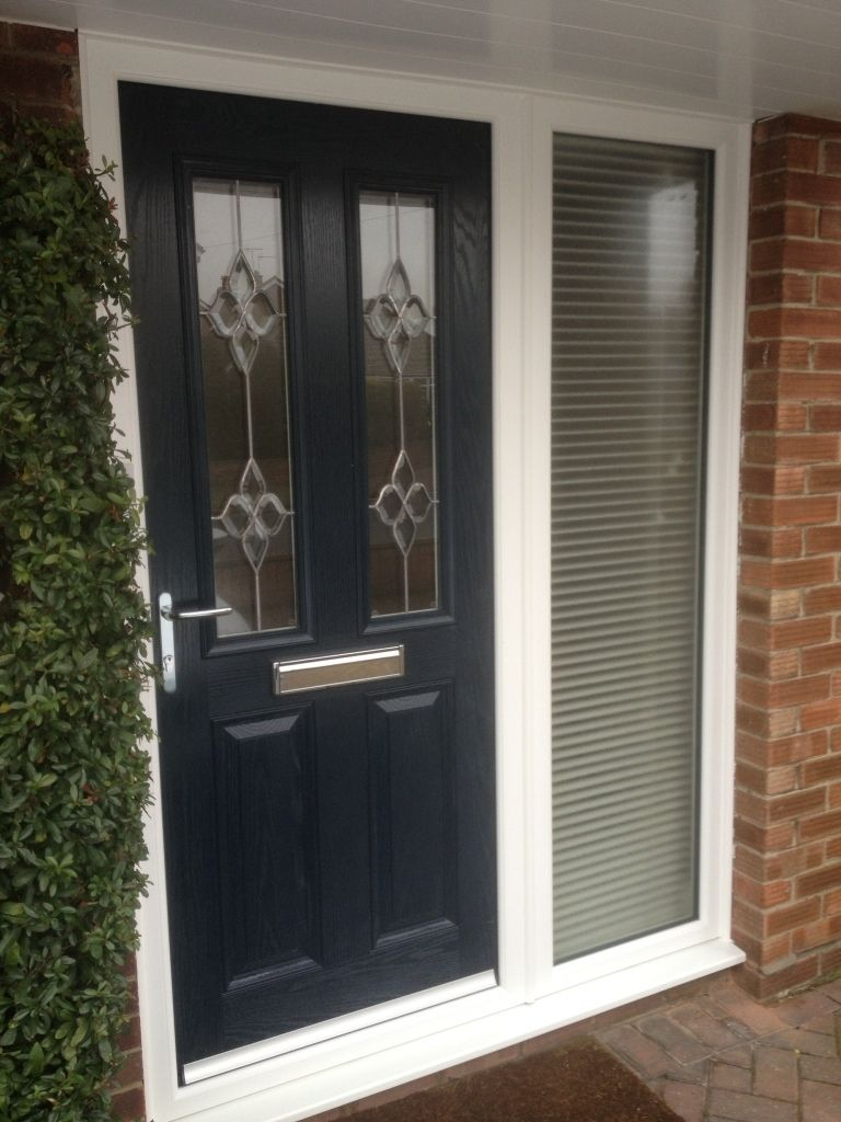 Front Door With Side Panel Glass thewrightstuff