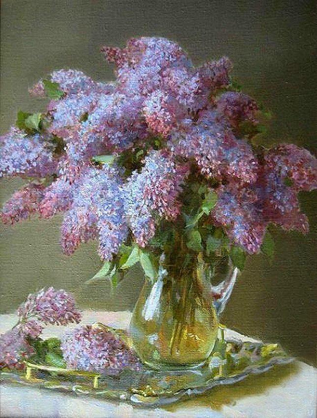 Negis Art Catherine Kalinovskaya Facebook Fiori Dipinti