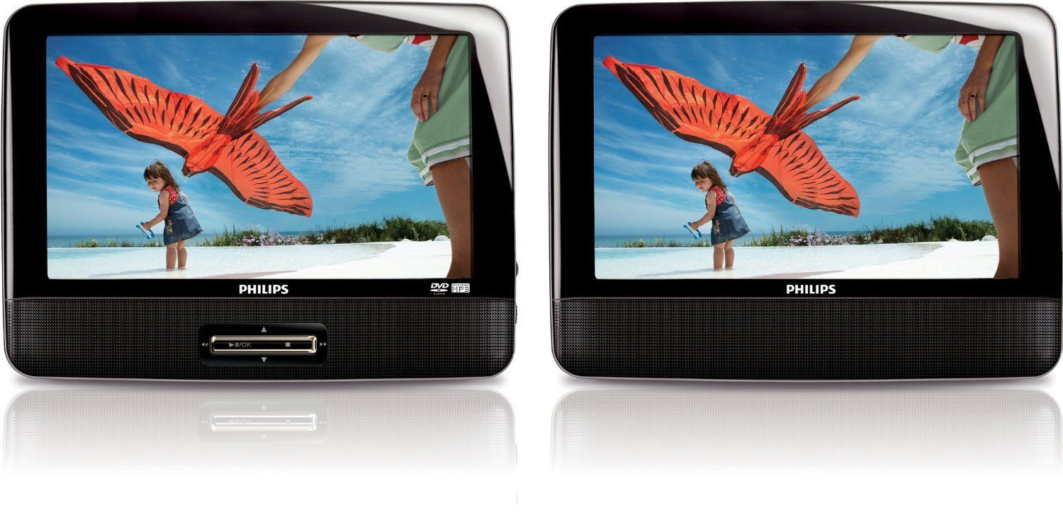 Philips Pd9012 37 9 Inch Lcd Dual Screen Portable Dvd Player