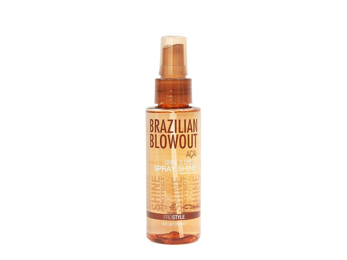 Brazilian Blowout Acai Shine Shield Spray Shine 4 Oz Brazilian Blowout Blowout Acai