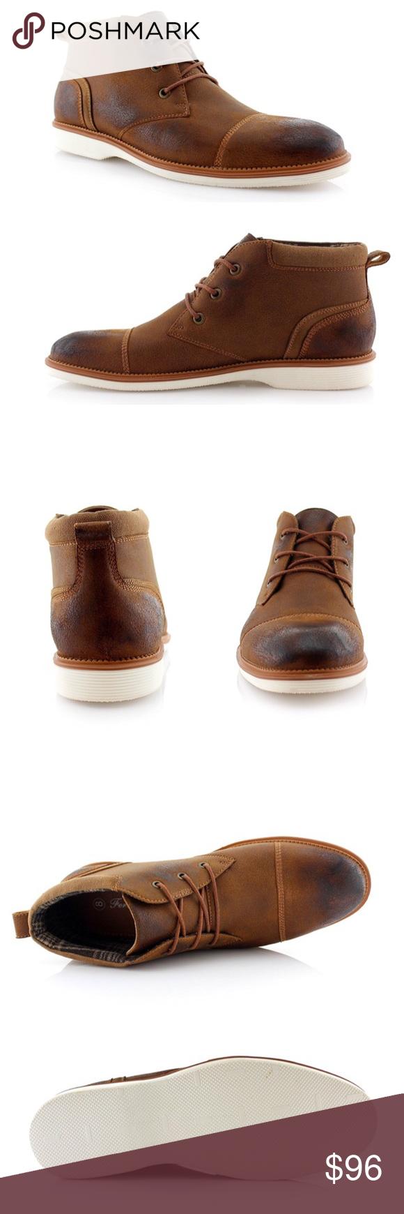 8491bfe2687 NEW Mens Chukka Boots Ferro 'Houston' Aldo NEW Men's Lace-up Ankle ...