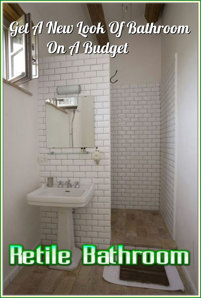 How To Retile Bathroom By Yourself Like The Professional