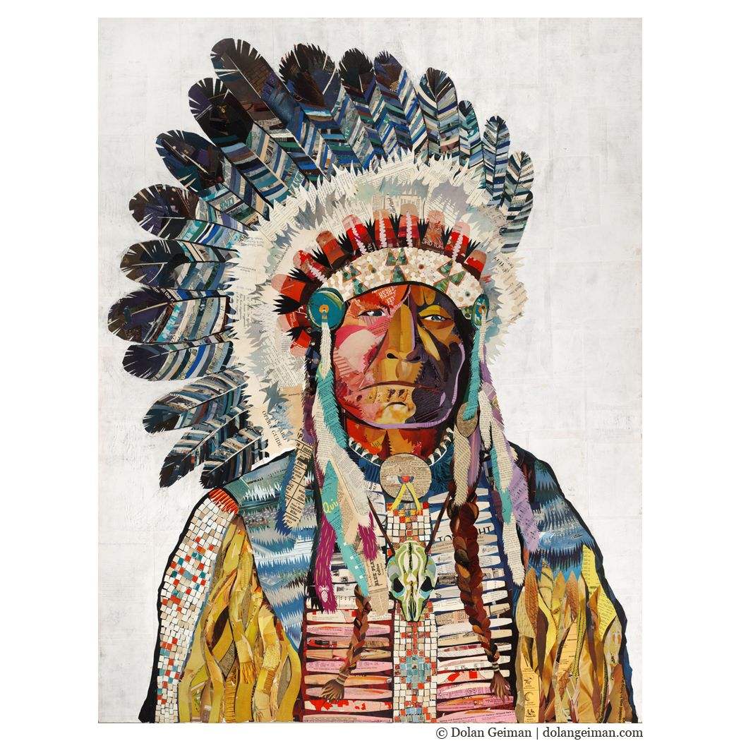 """American Heritage Collection: The Chief by Dolan Geiman  2013 