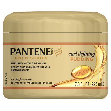 Gold Series from Pantene Curl Defining Pudding Cream, 7.6 fl oz   Walmart.com Gallery