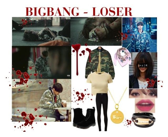 """""""BIGBANG - LOSER(Daesung)"""" by kariina-sykes ❤ liked on Polyvore featuring Gucci, AG Adriano Goldschmied, Nephora, Dr. Martens, McQ by Alexander McQueen, women's clothing, women's fashion, women, female and woman"""