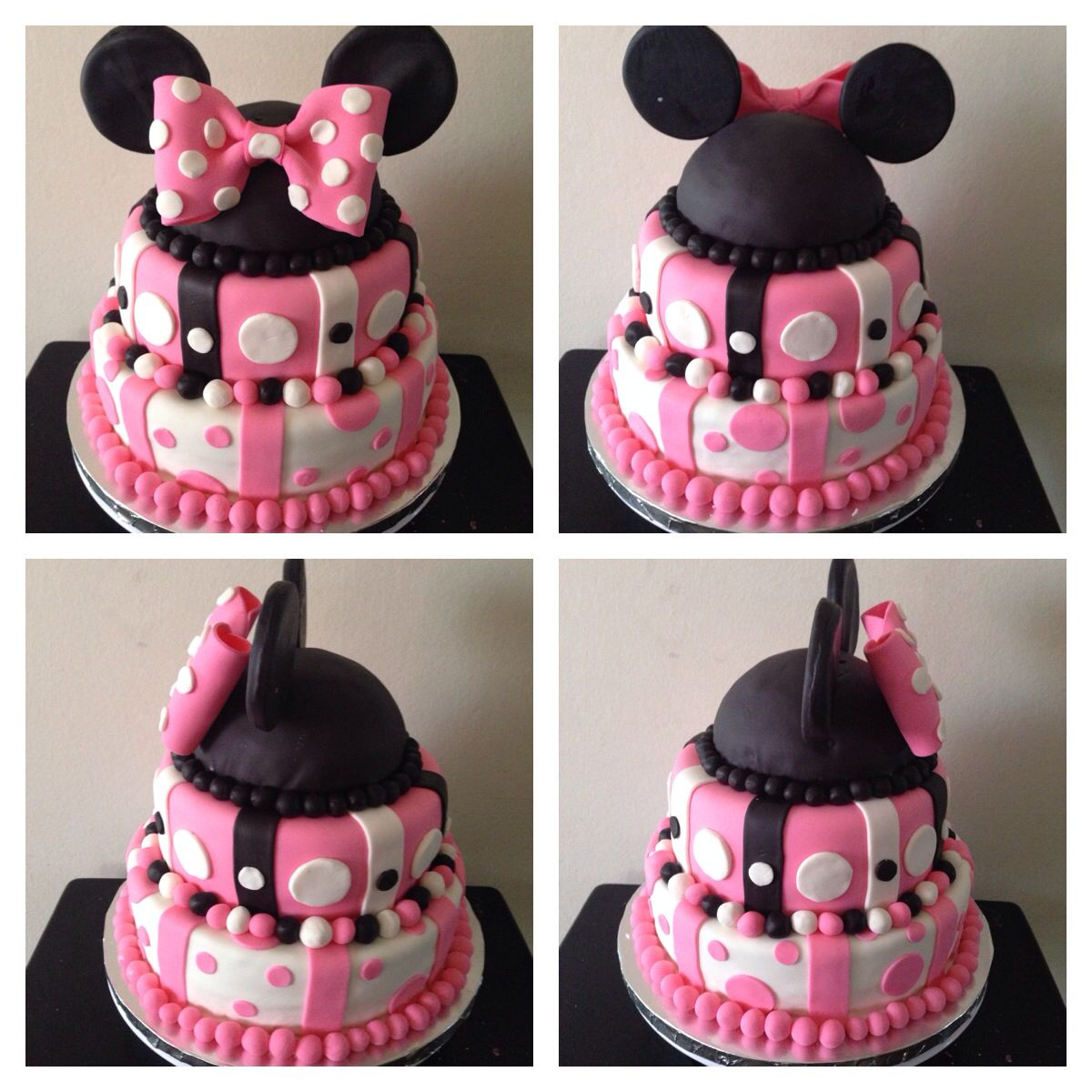 Baby Shower Minnie Mouse ~ Minnie mouse baby shower cake my creations