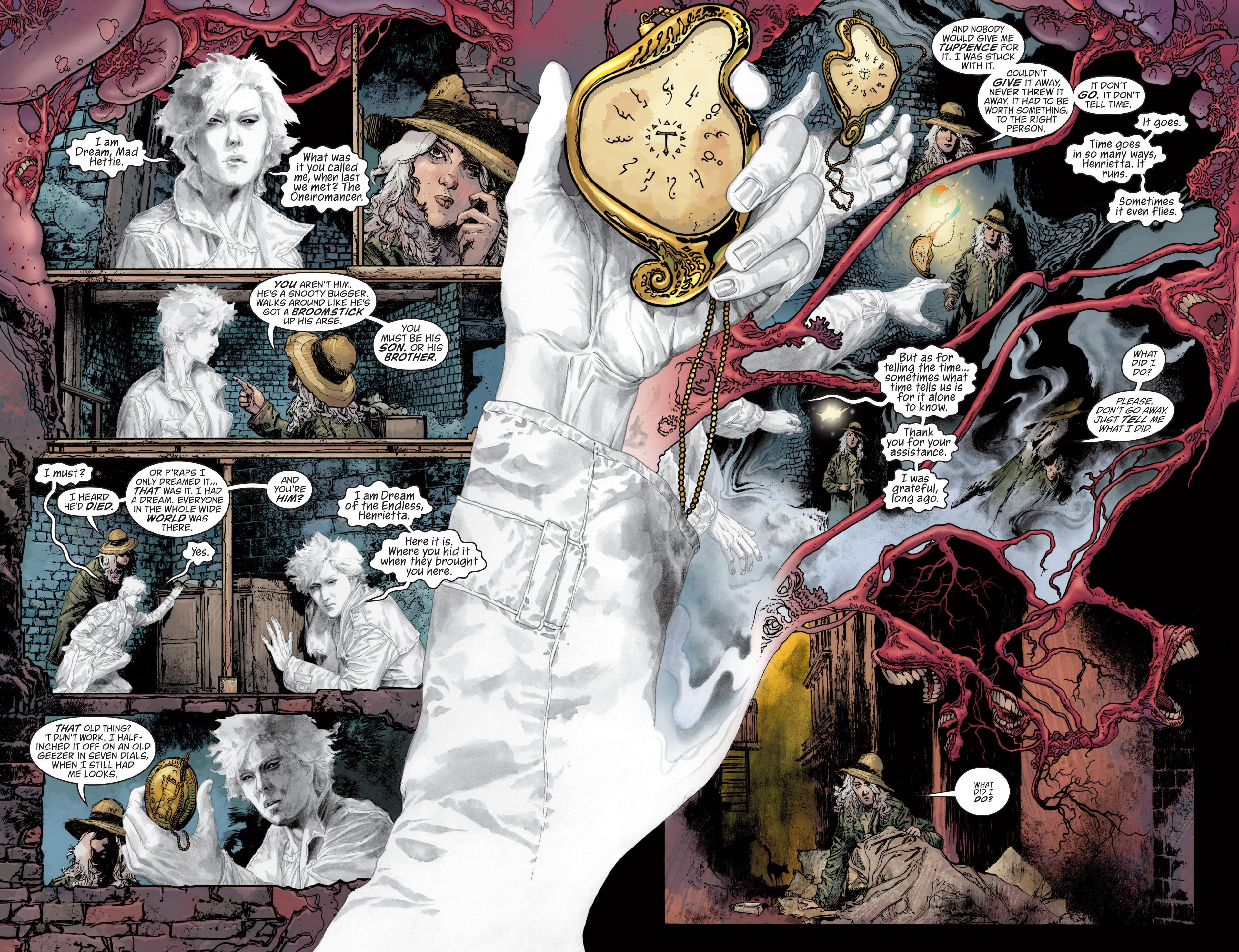 Recommended Comicbook Of The Weekend The Sandman Overture