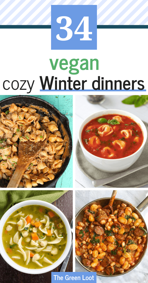 These hearty and cozy Vegan Winter Dinner Recipes will warm you up on the coldest evenings  The Green Loot