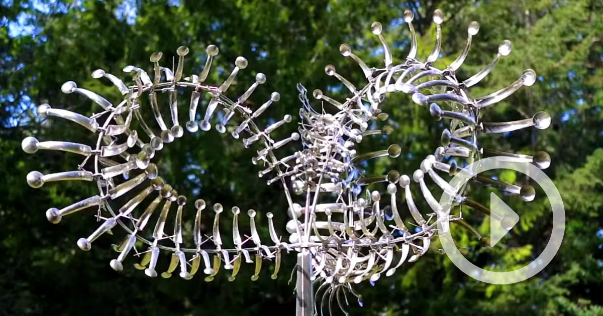 Dizzying New Wind-Powered Kinetic Sculptures by Anthony ...