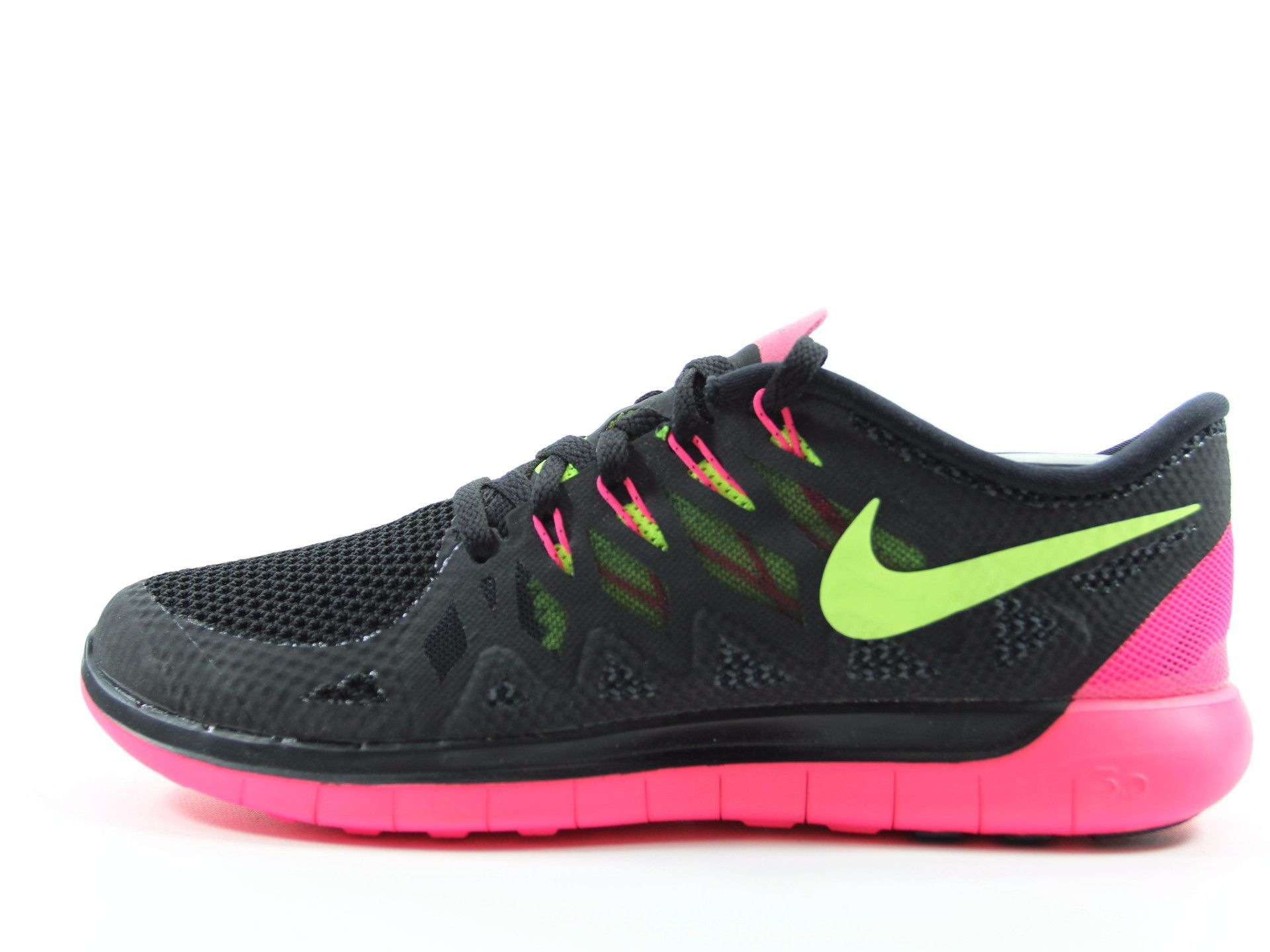 ** Nike Free 5.0 Lightweight Running Shoes Women's Size 9 Black