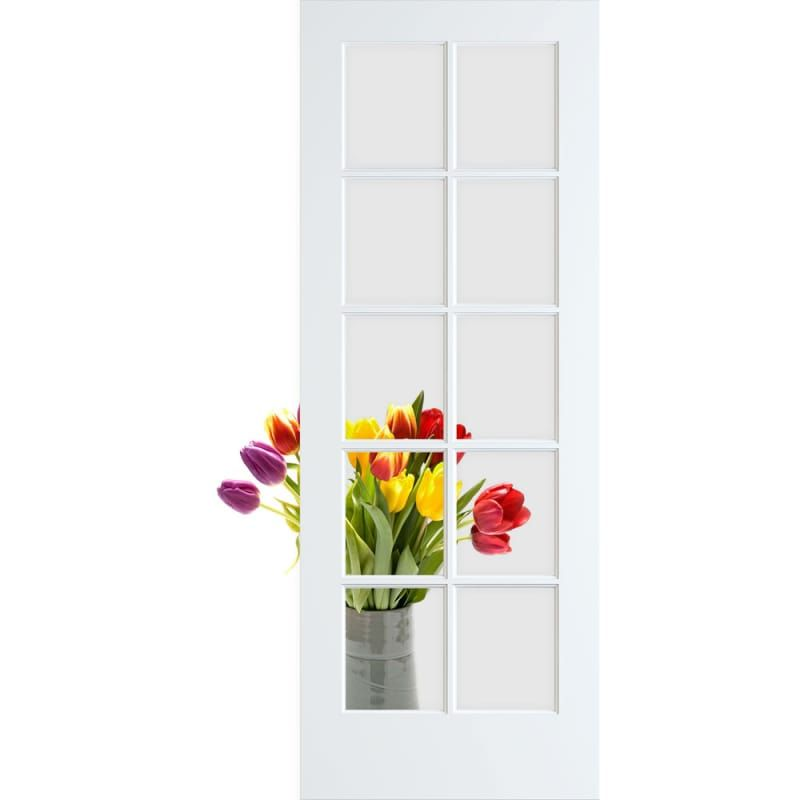 Frameport Cgl Pd 10l 6 2 3x1 1 2 Glass French Doors Glass Barn Doors French Doors
