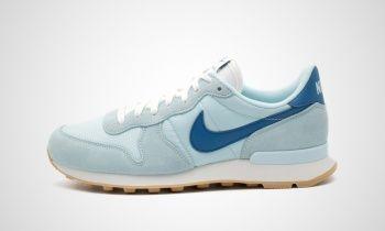 nike damen wmns internationalist sneakers blau