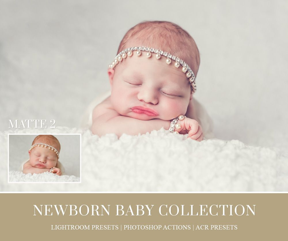 Lightroom presets for newborn photography