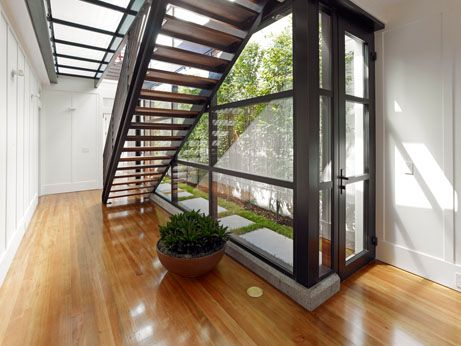 Best Board And Batten Walls And Modern Stair And Curtain Wall 400 x 300