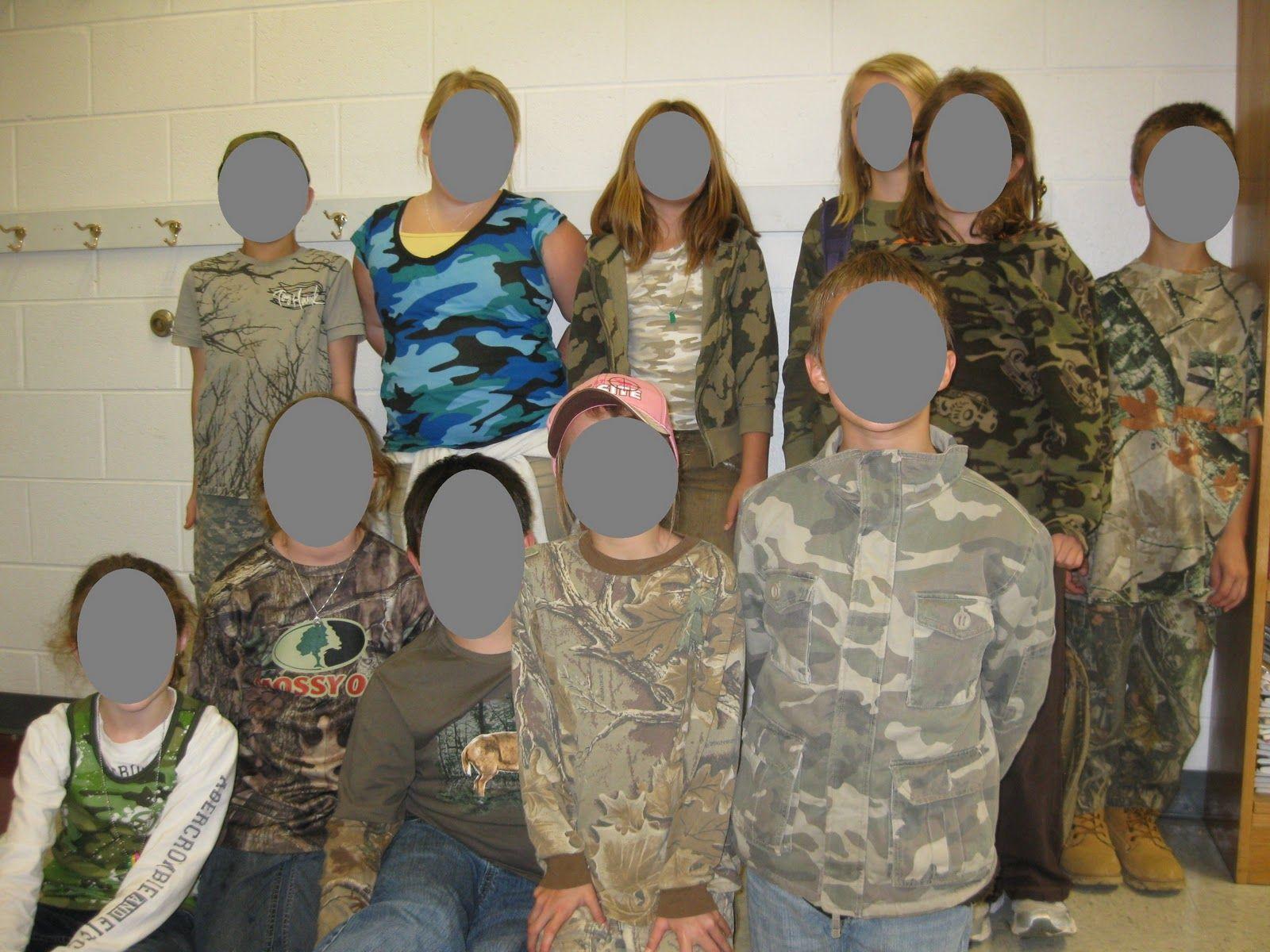 Educationjourney Camouflage Day