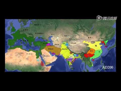 Animated Map of Civilizations 3500 BC - 2015 AD