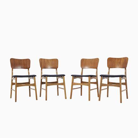 Dänische Teak Esszimmerstühle, 1960er, 4er Set Jetzt bestellen unter ...