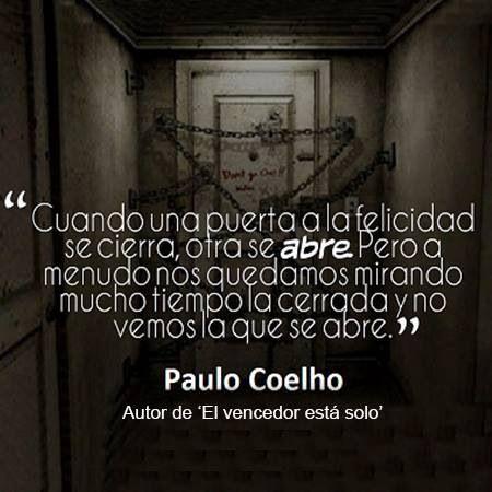 El Vencedor Está Solo Paulo Coelho Frases De La Vida Y