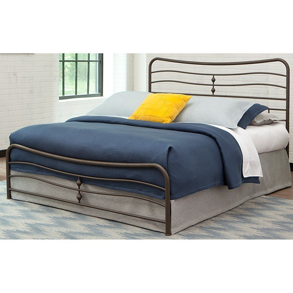 stratus carbon steel folding bed frame with headboard u0026 footboard