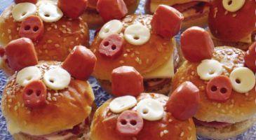 Mini burgers saucisse - Recette facile enfant - Gourmand