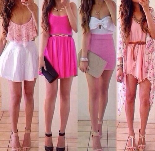 Cute Summer Dresses Tumblr | Cute pink spring and summer dresses ...