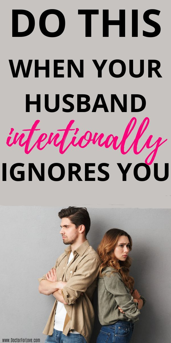 3 Action Steps to Take When Your Husband Ignores You in