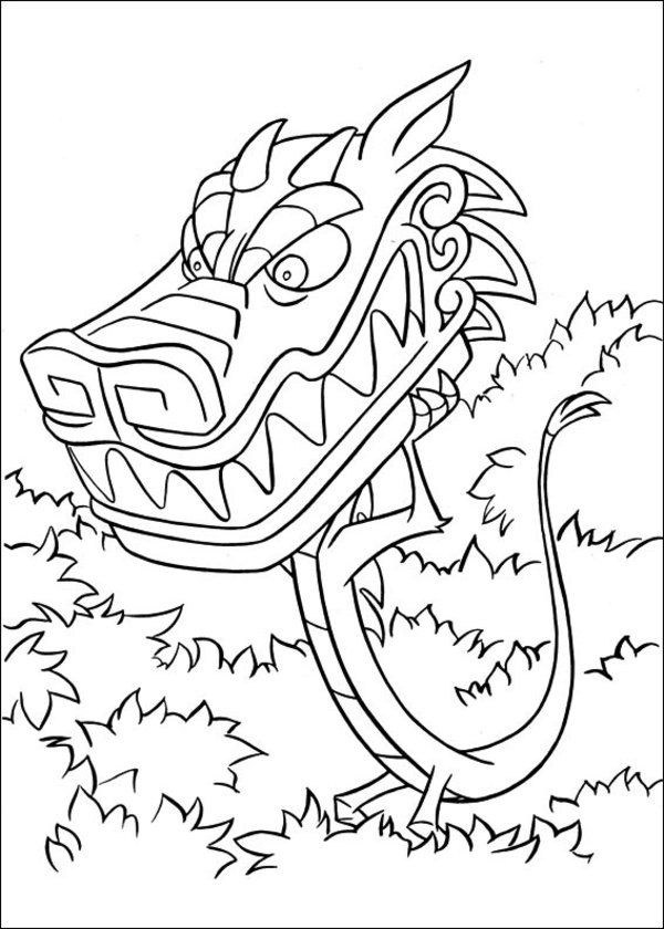 Mulan-Coloring-Pages-Picture-16.jpg (600×840) | add color to it ...
