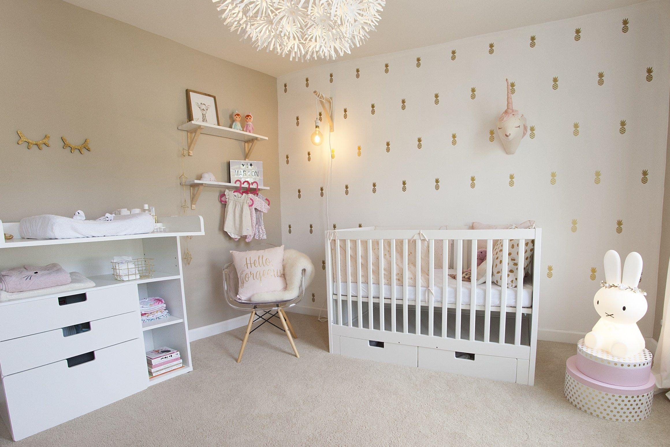 JKP_17  Chambre bébé rose, Idée déco chambre bébé fille, Diy déco