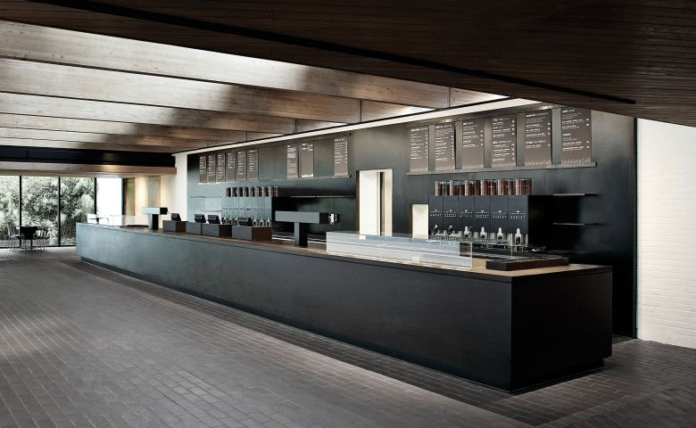 Louisiana museum of modern design space architecture for Bar counter designs small space