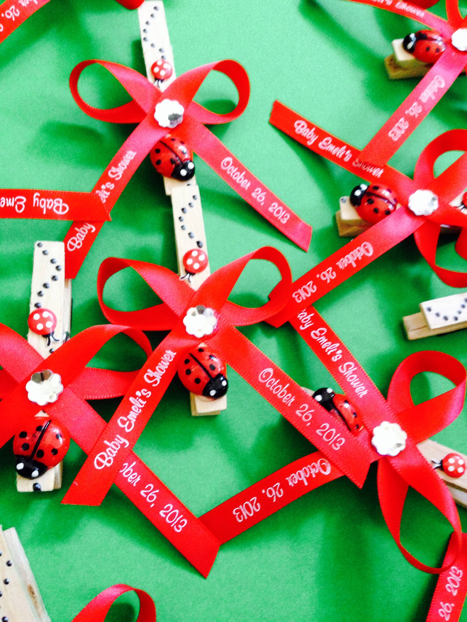 find this pin and more on party decorations favors ideas for ladybug baby shower