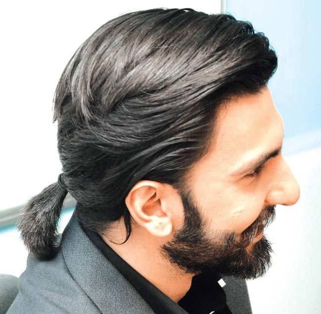 Rvs Hairstyle Mens Hairstyles Thick Hair Ranveer Singh Hairstyle Long Hair Styles Men
