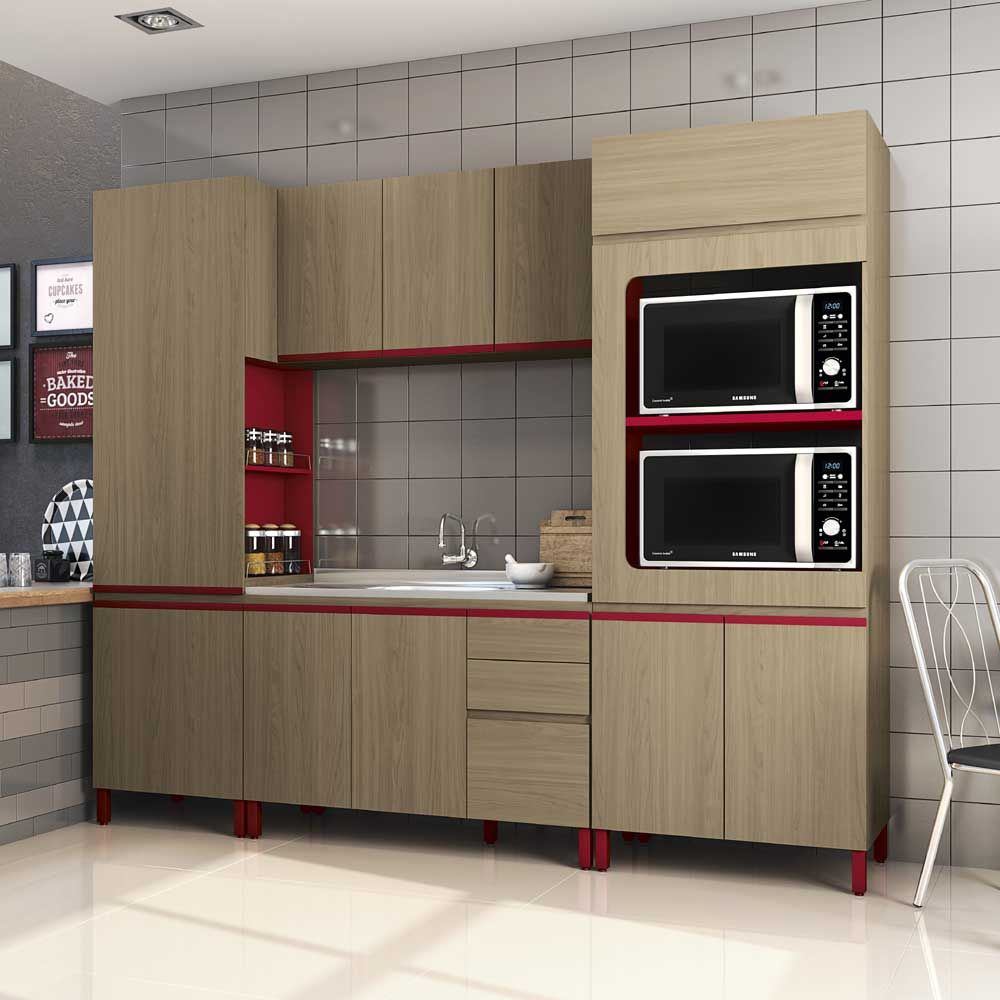 Cozinha Completa Kappesberg 4 Pe As New Urban Nature Marsala
