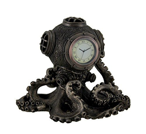 Ring In The Steampunk Decor To Pimp Up Your Home: Steampunk Octopus Home Decor And Gifts