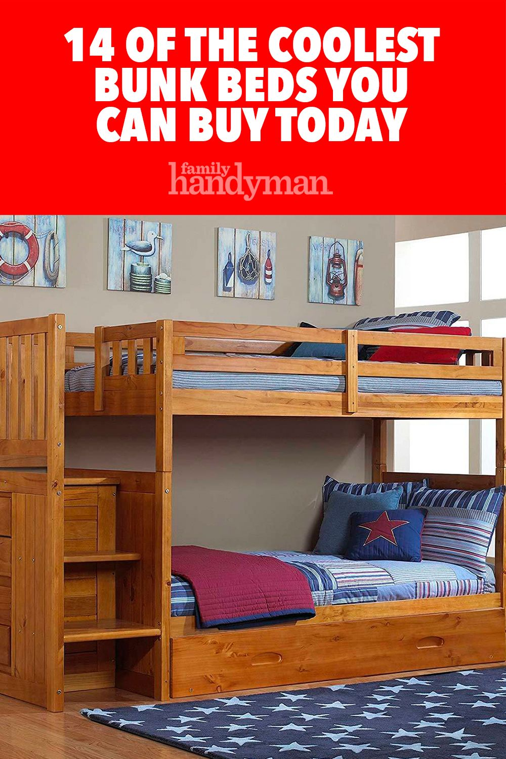 14 of the Coolest Bunk Beds You Can Buy Today Cool bunk