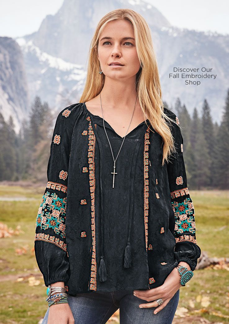 436ad357aa Women's Clothing and Unique Jewelry | Robert Redford's Sundance ...