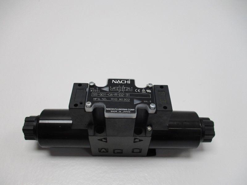74f2547adfd9 NACHI SS-G01-C6-R-D2-31 DIRECTIONAL CONTROL VALVE NEW NO BOX ...