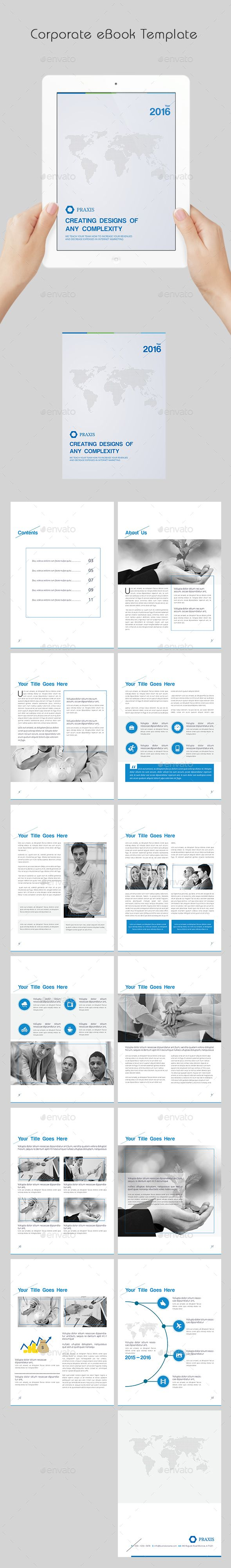 Corporate ebook template template book layouts and business flyers corporate ebook template indesign indd design download httpgraphicriveritemcorporate ebook template13961531refksioks fandeluxe Gallery