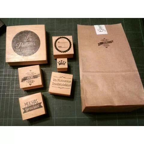Sellos #design #sellos #branding #eventos #party #kraft #packaging